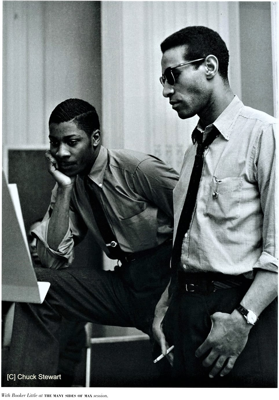 Booker Little and Max Roach
